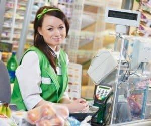 Cajera de Supermercado